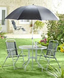 Milano Four Piece Garden Furniture Set