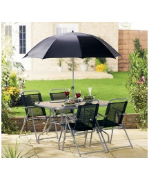 Milano Six Piece Garden Furniture Set