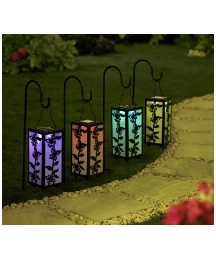 Solar Colour Changing Light