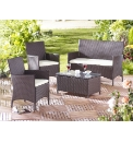 4 Piece Patio Furniture Set