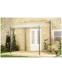 Metal Wall Gazebo - 2.5m