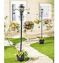 Solar Lampost - Buy 1 Get 1 Free
