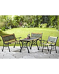 Valencia 4 Piece Garden Furniture Set