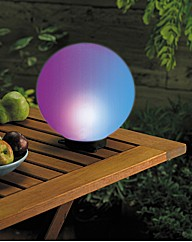 Solar Magic Lighting Globe