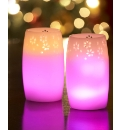 Set of 2 Colour Changing Candle & Remote