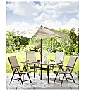 Deluxe Mezzano 6 Piece Patio Set