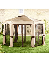 Hexagonal Easy-Up Gazebo