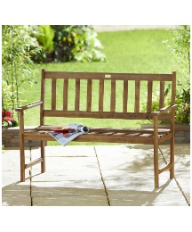 Somerset 2 Seater Wooden Bench