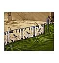 Solar Leaf Fence