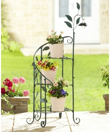 Multi-Tier Solar Leaf Planter