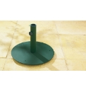 Green Round Flat Parasol Base