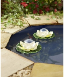 Solar Floating Lotus Flower