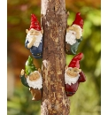 Set of Solar Tree Gnomes