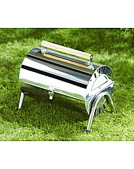 Barrel Stainless Steel BBQ