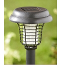 Solar Powered Insect Zapper