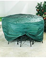 Medium Rectangular Patio Set Cover
