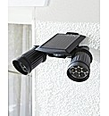 Twin LED Solar Security Light