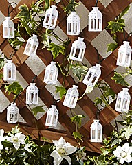 Set of 16 Moroccan Solar Light String