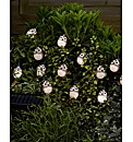 Set of 16 Owl Light String