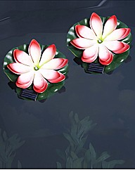 Solar Floating Lily - Buy 1 Get 1 Free