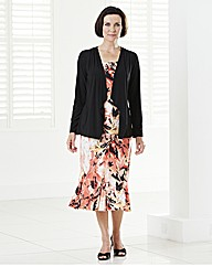 Two Piece Printed Suit