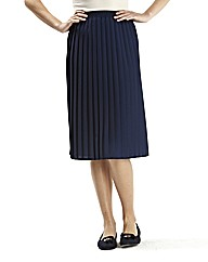 Plain Pleat Skirt Length 25