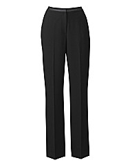 Pull On Trouser Contrast Trim L27in