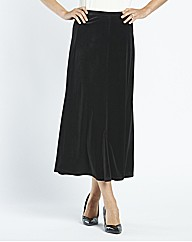 Plain Velour Skirt L32