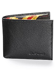 Ben Sherman Flag Leather Wallet