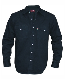 Duke Mighty Western Style Denim Shirt