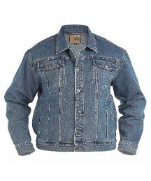 Duke Mighty Western Style Denim Jacket