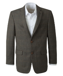 Henry Tudor Short Herringbone Jacket