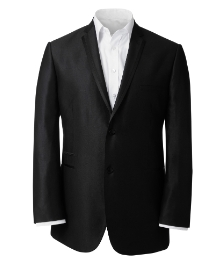 & City Tall Plain Suit Jacket