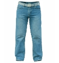 D555 Straight Leg Jeans and Belt 34in