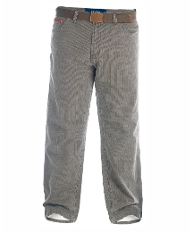 Duke Bedford Cords and Belt 38in Leg