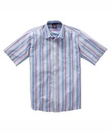 & Brand Tall Multi Striped Shirt