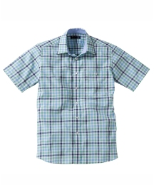 & Brand Tall Square Checked Shirt