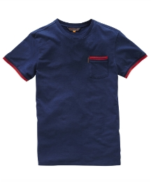 Ben Sherman Mighty Plain Pocket T-Shirt