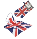 Cool Britannia Apron and Oven Mitt Set