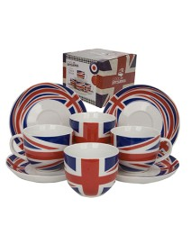 Cool Britannia Cup and Saucer Set