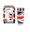 Cool Britannia 500ml Ceramic Travel Mug