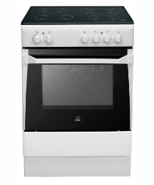 Indesit 60cm Ceramic Single Oven Cooker