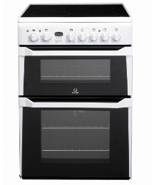 Indesit 60cm Ceramic Double Oven