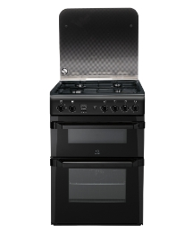 Indesit 60cm Gas Double Oven + Install