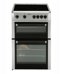Beko 60cm Ceramic Double Cavity Cooker