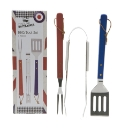 Cool Britannia 3pc BBQ Tools