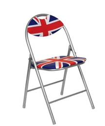 Cool Britannia Union Jack Folding Chair