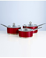 Morphy Richards Accents 3 Piece Pan Set