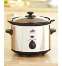 1 Litre Stainless Steel Slow Cooker