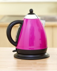 Stainless Steel Colour Block Jug Kettle